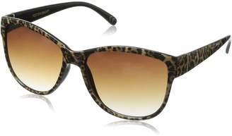 Foster Grant Women's Fate Leo Round Sunglasses