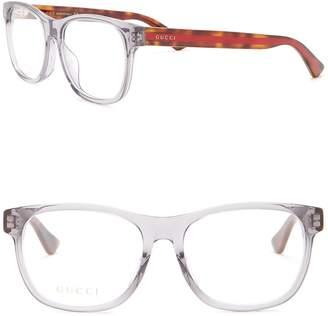 Gucci 55mm Square Optical Frames