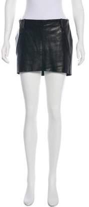Acne Studios Mimi Leather Skirt