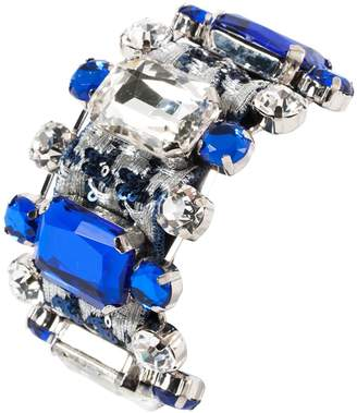 La Perla Blue Crystal Bracelets