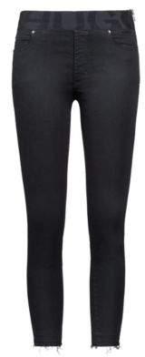 HUGO Boss Black skinny-fit jeans elastic logo waistband 31/34 Black