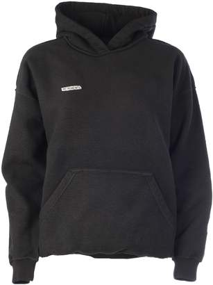 Vetements Logo Patched Hoodie