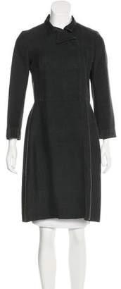 Marni Knee-Length Silk Coat