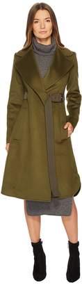 Sportmax Ordito Tie Waist Coat Women's Coat