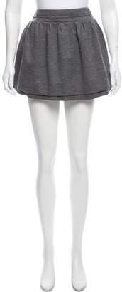Diane von Furstenberg Wool-Blend Mini Skirt