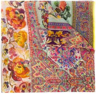 Etro multiple floral scarf