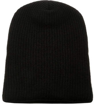 The Elder Statesman Kisser Ribbed Cashmere Beanie