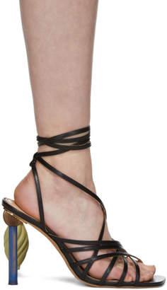 Jacquemus Black Les Sandales Pisa Sandals