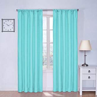 Eclipse Curtains Eclipse 10707042X084POL Kendall 42-Inch by 84-Inch Thermaback Room Darkening Single Panel