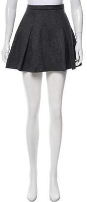 RED Valentino Wool Circle Skirt