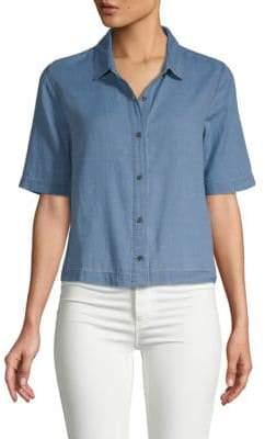 J Brand Classic Short-Sleeve Shirt