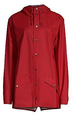 Rains Women's Hooded Mackintosh