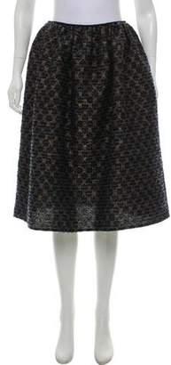 Golden Goose A-Line Bouclé Skirt