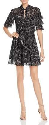 Rebecca Taylor Cheetah-Print Mini Dress