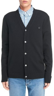 Men's Acne Studios Dasher C Wool Cardigan $300 thestylecure.com
