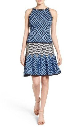 Women's Eliza J Knit Two-Piece Dress $138 thestylecure.com