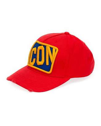 4524b539e5bf6 DSQUARED2 Men s Icon Patched Baseball Cap