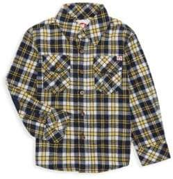 Appaman Little Boy's & Boy's Plaid Flannel Shirt