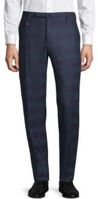 Incotex Checkered Wool Pants