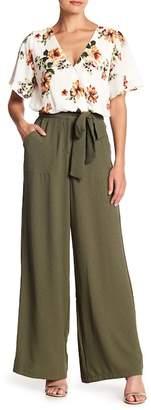 June & Hudson Tie Waist Trouser Pants