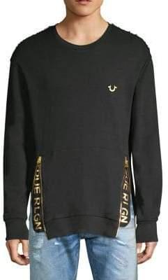 True Religion Zip Logo Pullover