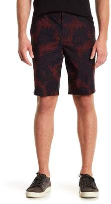 Vince Tropical Leaf Mid Rise Shorts