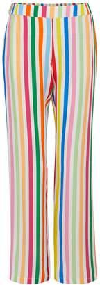 Mira Mikati Rainbow striped pants