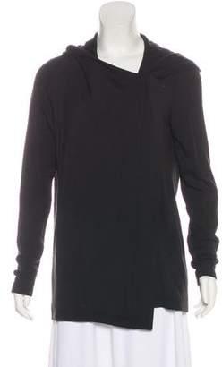 Helmut Lang Asymmetrical Hooded Jacket
