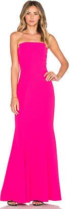 Jill Stuart Strapless Gown