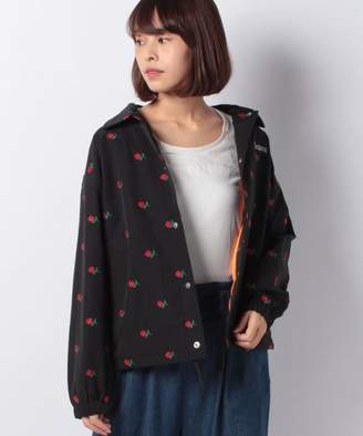 390c92c97fb77 X-girl (エックス ガール) - X-girl ROSE EMBROIDERY COACH JACKET