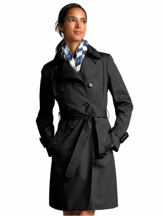 Tall classic trenchcoat