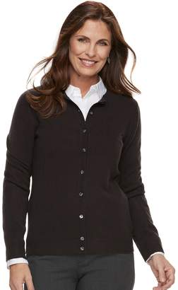 Croft & Barrow Women's Classic Extra Cozy Cardigan