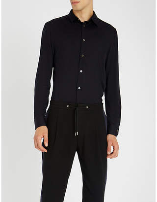 Paul Smith Side striped wool-blend jogging bottoms