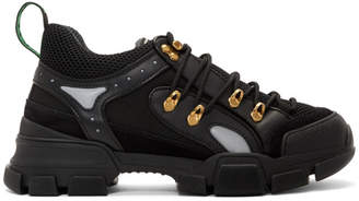 Gucci Black Flashtrek Sneakers
