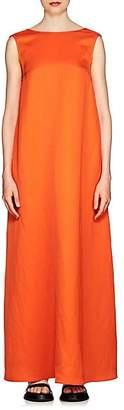 Jil Sander Women's Twill A-Line Dress - Orange
