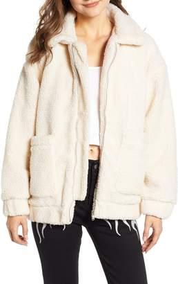 I AM GIA I.AM.GIA Pixie Faux Shearling Jacket