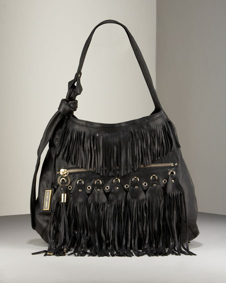 Jimmy Choo Fringe Hobo