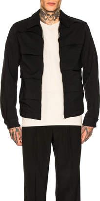 Comme des Garcons Collar Jacket in Black | FWRD