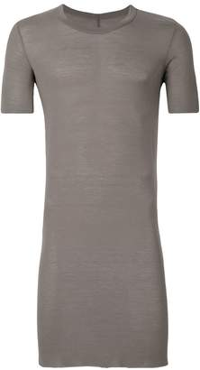 Rick Owens long length fitted T-shirt