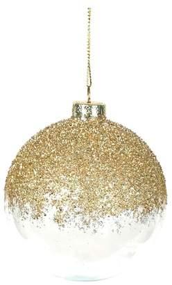 ARTY Glitter Glass Ball Ornament