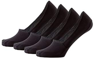 Peds Men's Coolfeet Show Loafer Socks with Anti-Slip Gel Tab Odor Defense and Reusable Sock Caddy