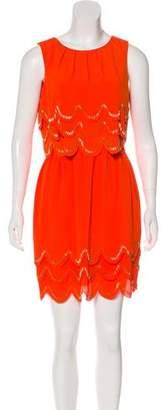 Ted Baker Sleeveless Mini Dress