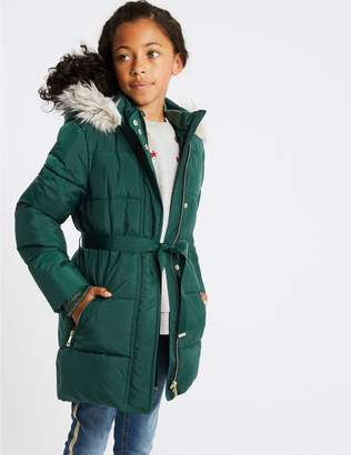 Marks and Spencer Longline Padded Coat (3-16 Years)