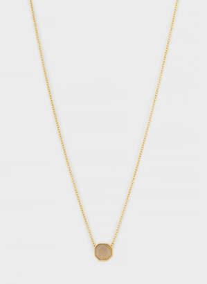 Gorjana Power Gemstone Charm Necklace for Balance