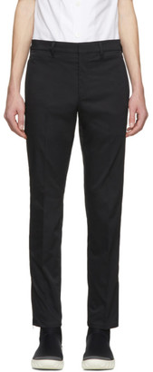Prada Black Tailored Tapered Trousers