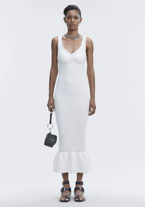 Alexander Wang RIBBED TANK GOWN