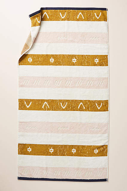 Anthropologie Isla Bath Towel Collection