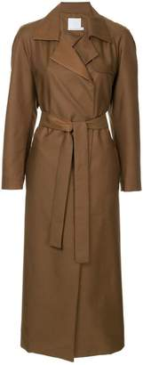 CHRISTOPHER ESBER belted trench coat