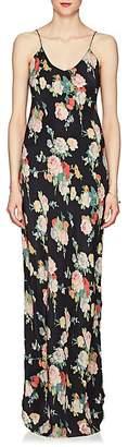 Nili Lotan Women's Floral Silk Charmeuse Slipdress