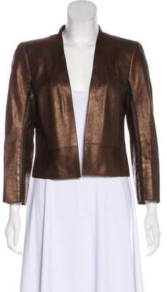 Akris Leather Jacket